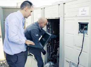 Proceso de creación de la GMAO para llevar un control informatizado del estado del edificio