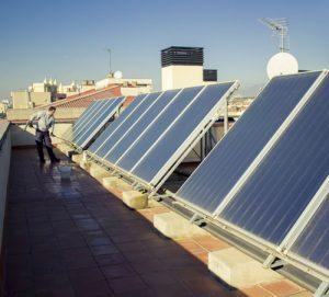 Mantenimiento y limpieza de placas solares