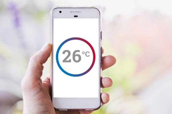 Control de termostatos inteligentes por smartphone