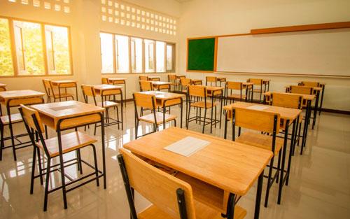 aire acondicionado en los colegios